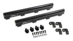 HOLLEY HI-FLOW FUEL RAILS - LS7 - 534-230