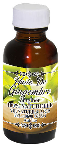 Huile Gingembre 30ml