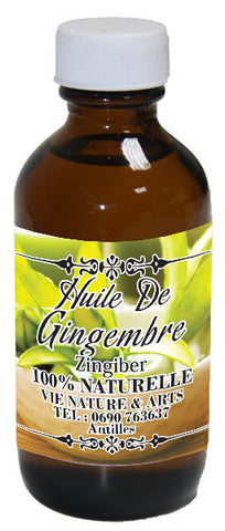 Huile Gingembre 60ml