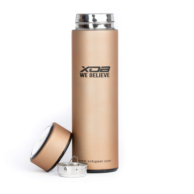 XOB Bullet Thermal Insulation Cup - Bronze & Black