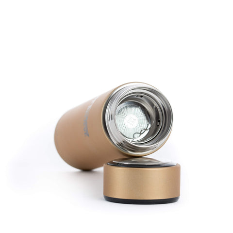 XOB Thermal Insulation Cup - Gold & Black