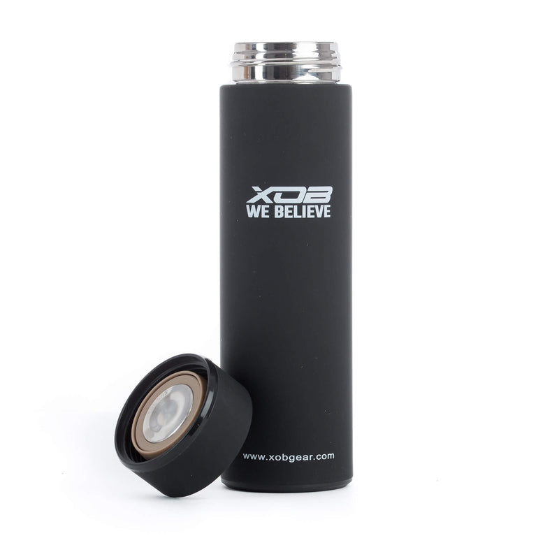 XOB Bullet Thermal Insulation Cup - Black & White