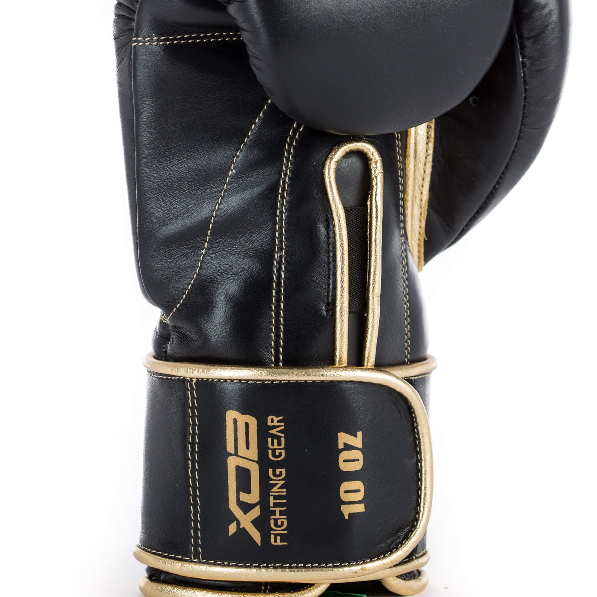 XOB Original Velcro Boxing Gloves - Black & Gold