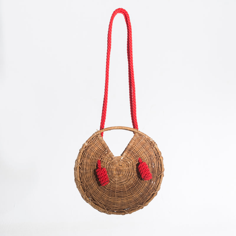 Knot Bag red