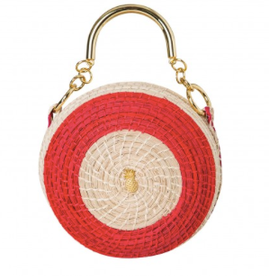 Tambor bag gold U handle red