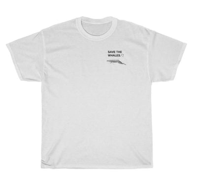 Save The Whales Two Cotton Tee Youth