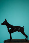 Dog Sculpture Doberman