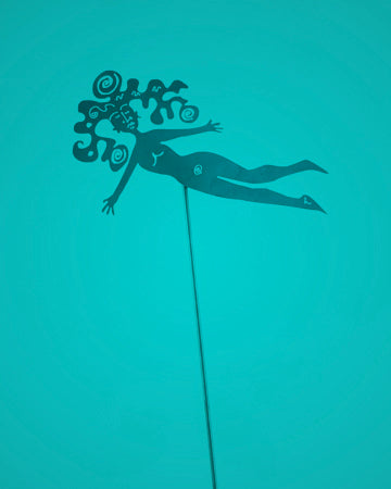 Naked Flying Deva Pole
