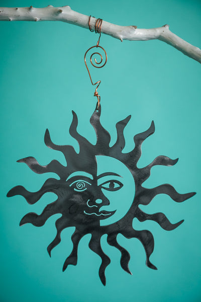 Sun with Face Hanging