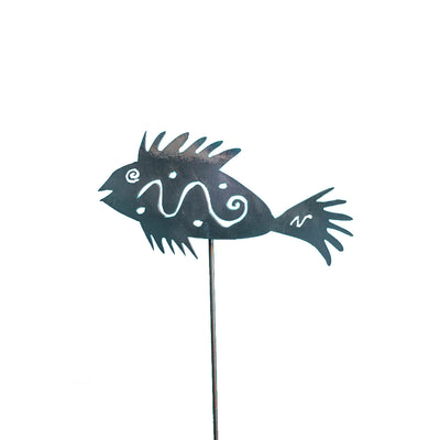 Spikey Fish Pole