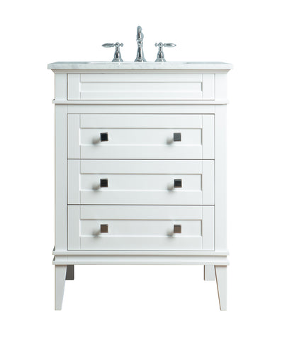 Stufurhome Corinne 30 Inch Single Sink Bathroom Vanity