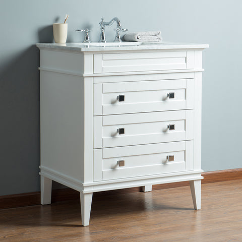 Stufurhome Corinne 36 Inch Single Sink Bathroom Vanity