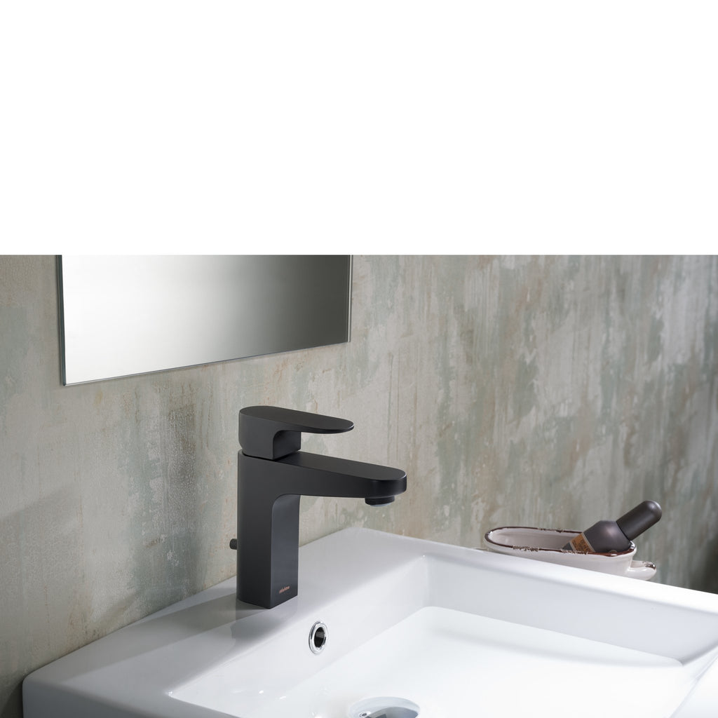 Stufurhome Jackson Single Hole Faucet in Matte Black