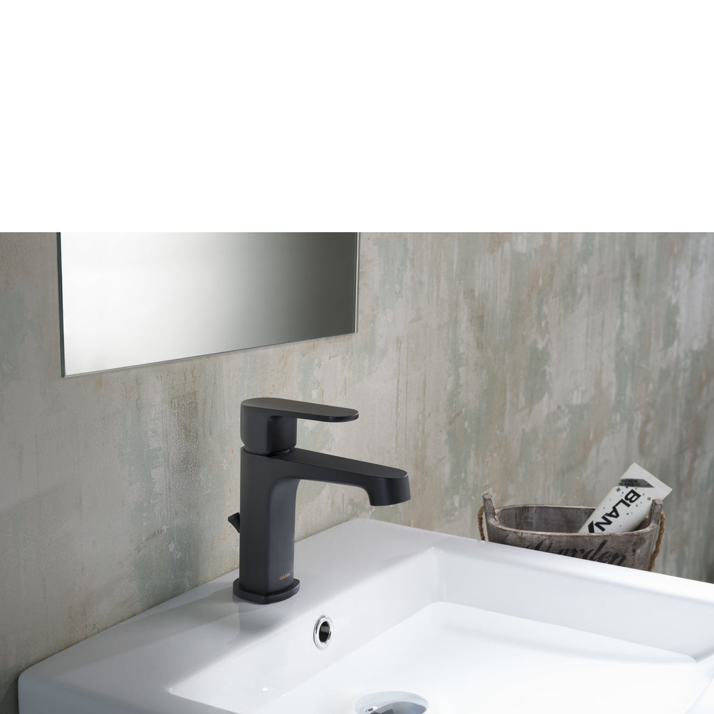 Stufurhome Devon Single Hole Faucet in Matte Black