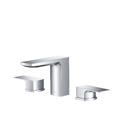 Stufurhome Barret Bathroom Faucet Set in Chrome