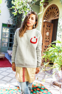 Noun Cotton-Blend Jersey Sweatshirt