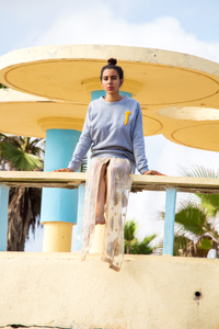 Alif Cotton-Blend Jersey Sweatshirt