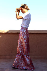 Tachelvat Brocade Maxi Dress