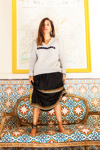 Casablanca Cotton-Blend Jersey Sweatshirt