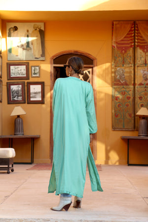 Aïlimas Cotton Embellished Kaftan