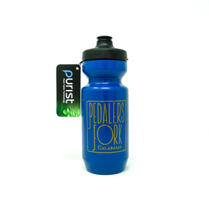 10 Speed Coffee Water Bottle - Blue