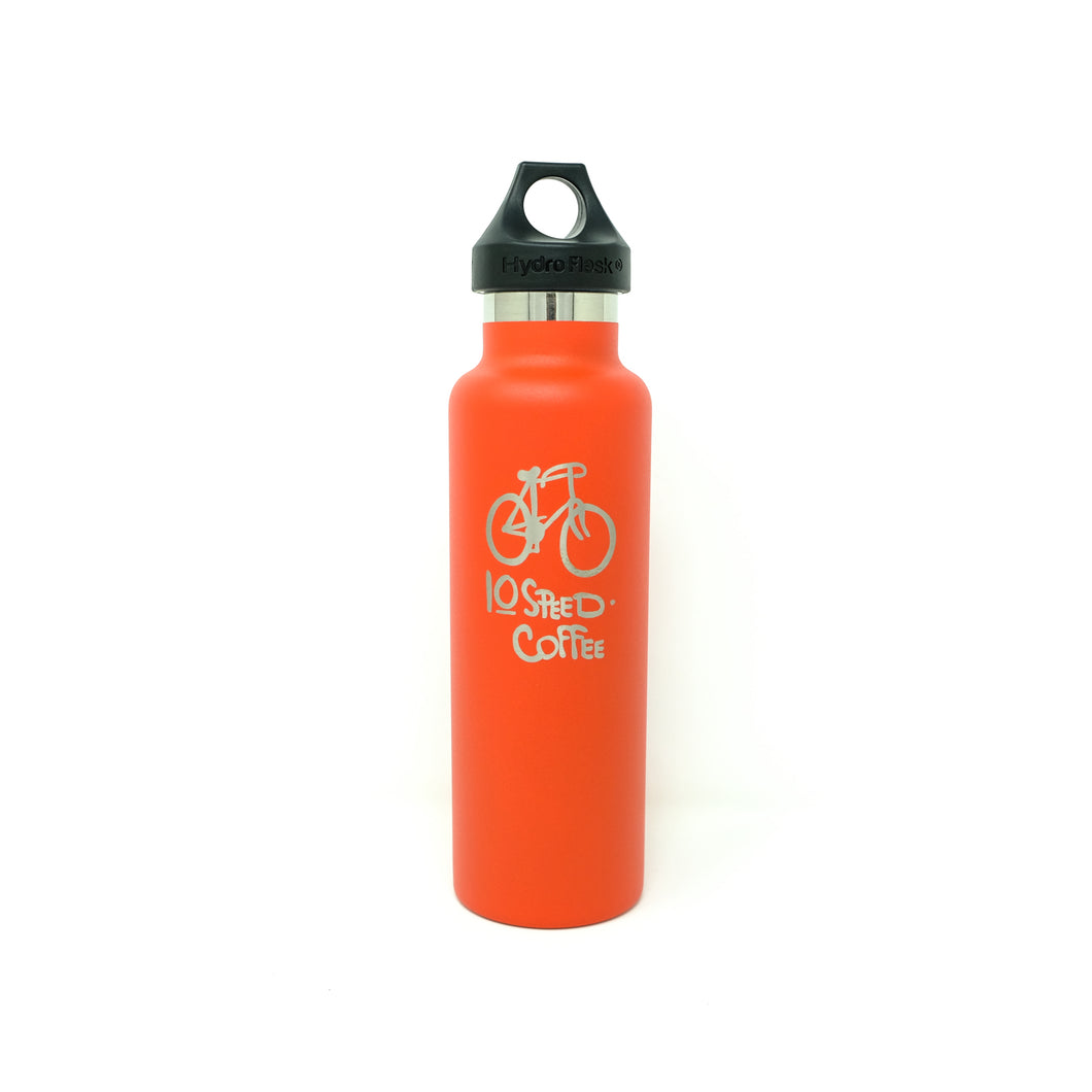 10 Speed Coffee Hydroflask - Red (21oz.)