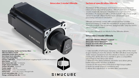 Simucube 2 Ultimate Kit
