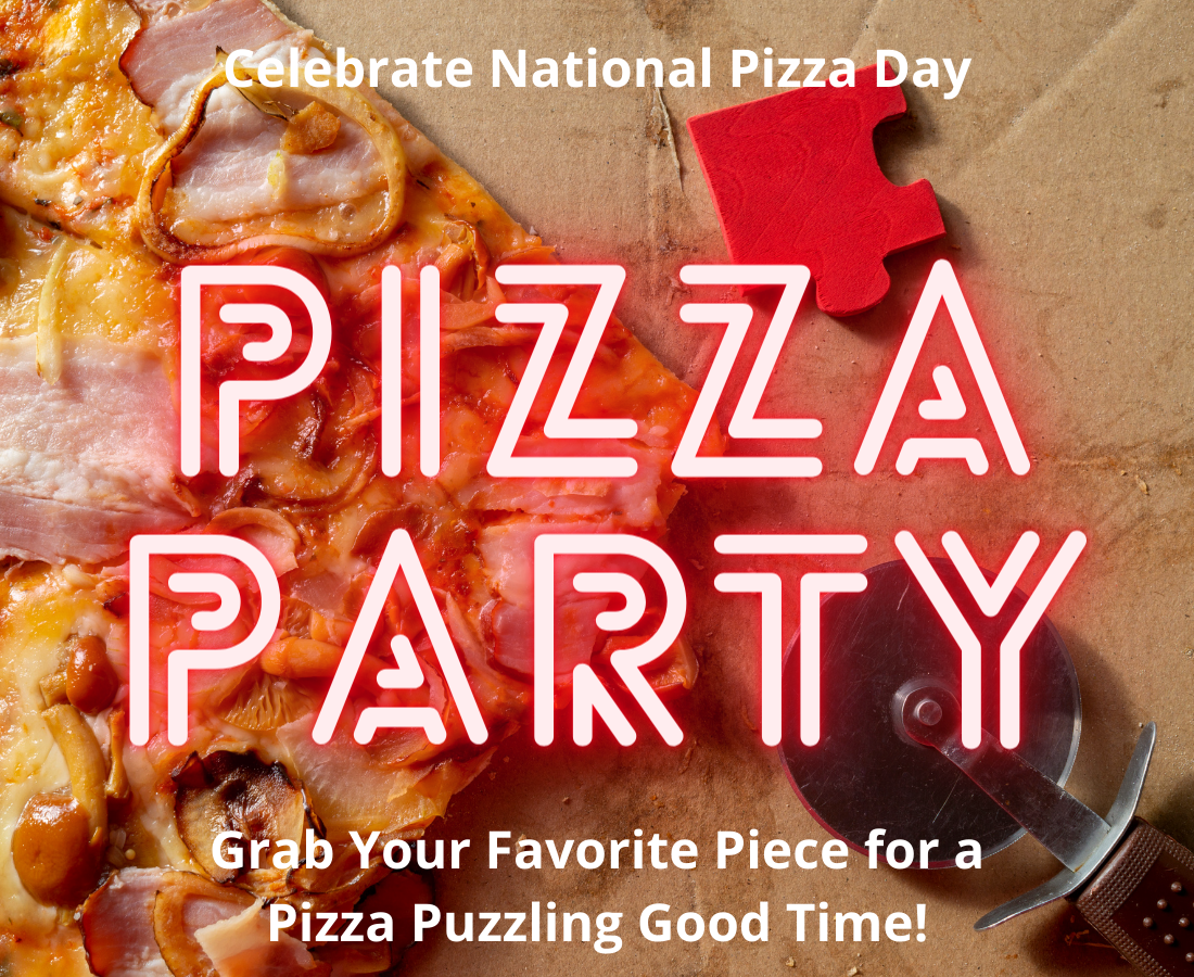 National Pizza Day - It's Pizza Puzzling Party Time