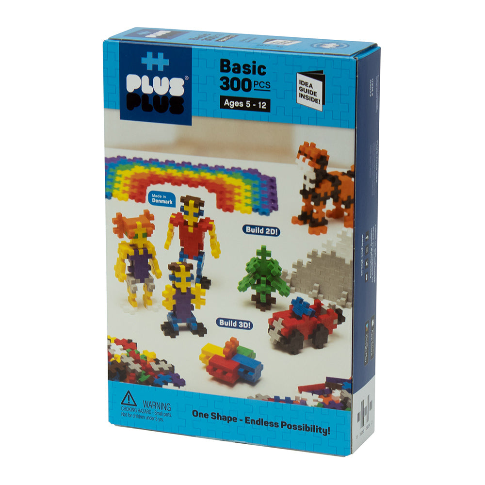 Plus-Plus - 300 Piece Basic Set - Puzzlicious.com