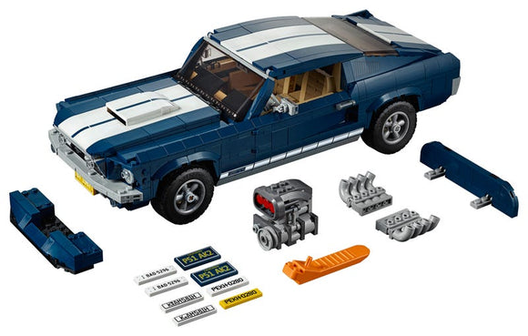Ford Mustang - Puzzlicious.com