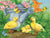 Ducklings and Butterflies 300 Piece Puzzle - Quick Ship - Puzzlicious.com