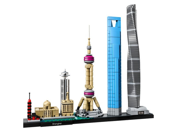 Shanghai Skyline Architectural Building Set
