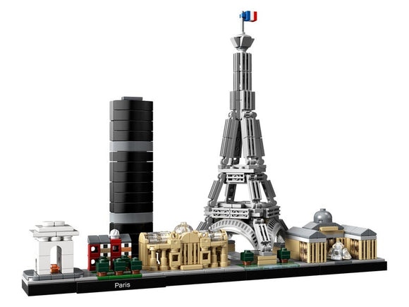 Paris Skyline Architectural Building Set