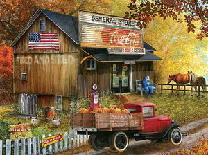 Seed and Feed General Store 1000 Piece Puzzle - Puzzlicious.com