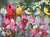 Songbirds and Cosmos 500 Piece Puzzle - Puzzlicious.com