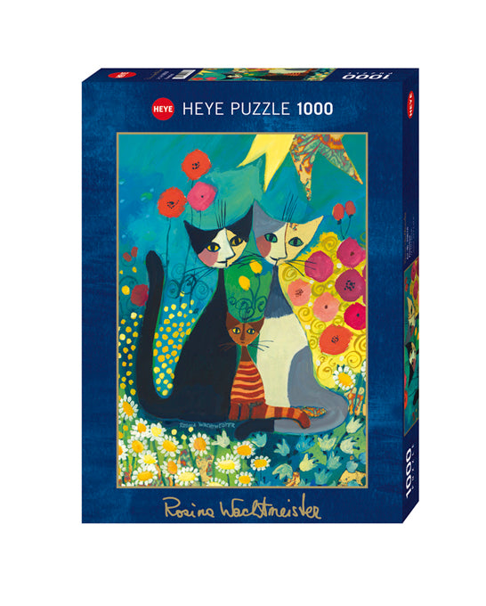 Wachtmeister's Flowerbed 1000 Piece Puzzle - Quick Ship - Puzzlicious.com
