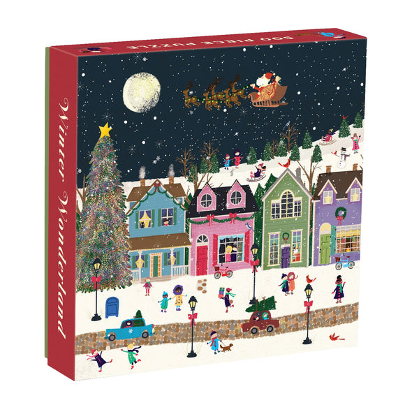 Winter Wonderland 500 Piece Puzzle - Quick Ship - Puzzlicious.com