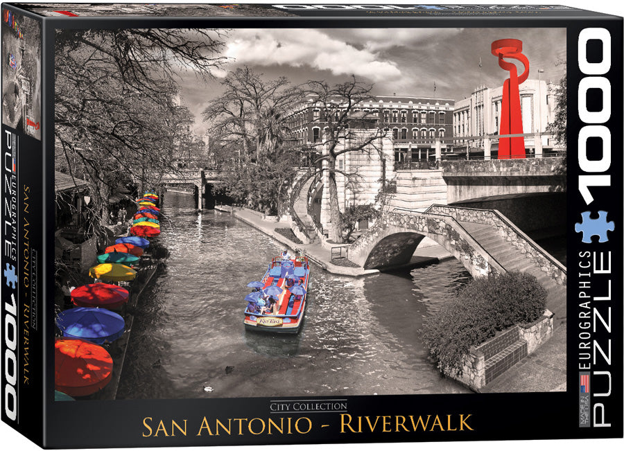 San Antonio Riverwalk 1000 Piece Puzzle - Quick Ship - Puzzlicious.com