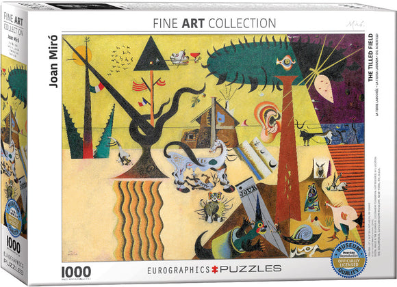 Miro's The Tilled Field 1000 Piece Puzzle - Quick Ship - Puzzlicious.com