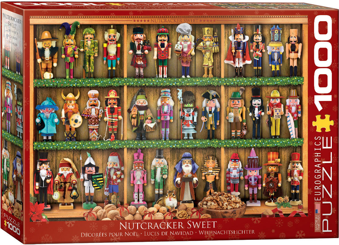 Nutcracker Soldiers 1000 Piece Puzzle - Quick Ship - Puzzlicious.com