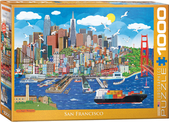 San Francisco 1000 Piece Puzzle - Quick Ship - Puzzlicious.com