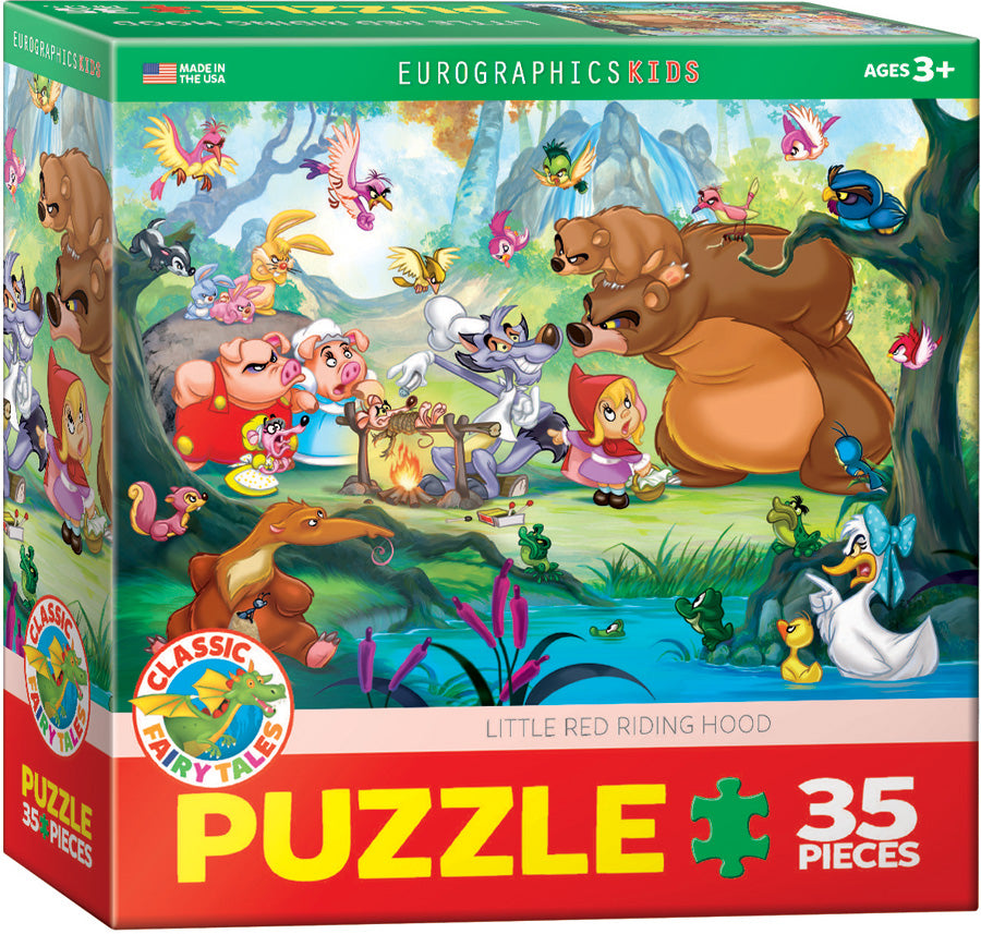 Little Red Riding Hood 35 Piece Puzzle - Quick Ship - Puzzlicious.com