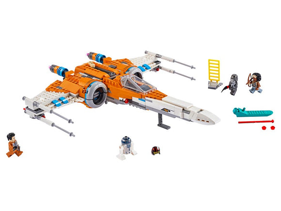 Poe Dameron's X-wing Fighter - Puzzlicious.com