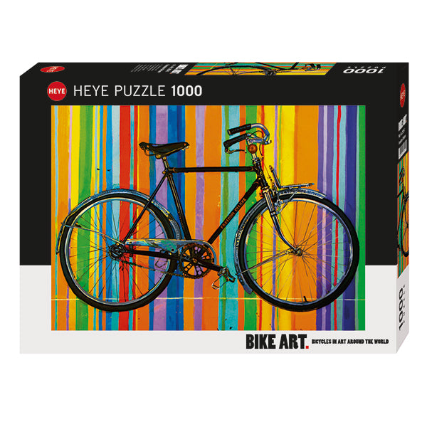 Bike Art: Freedom Deluxe 1000 Piece Puzzle - Quick Ship - Puzzlicious.com