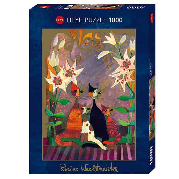Wachtmeister's Lilies 1000 Piece Puzzle - Puzzlicious.com