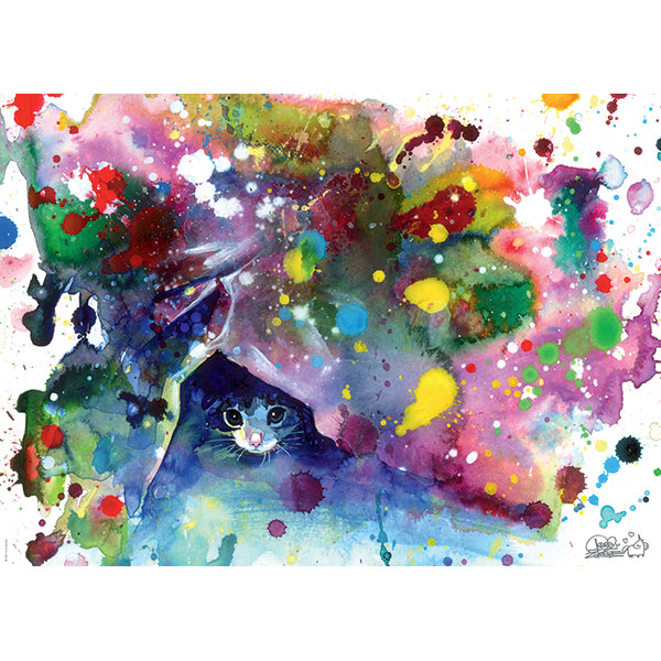 Free Colours: Meow 1000 Piece Puzzle - Quick Ship - Puzzlicious.com