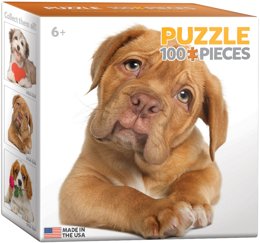 Puppy 100 Piece Mini Puzzle - Quick Ship - Puzzlicious.com