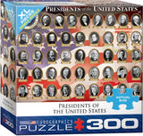 Presidents of the United States 300 Piece Puzzle with XL Pieces - Quick Ship - Puzzlicious.com