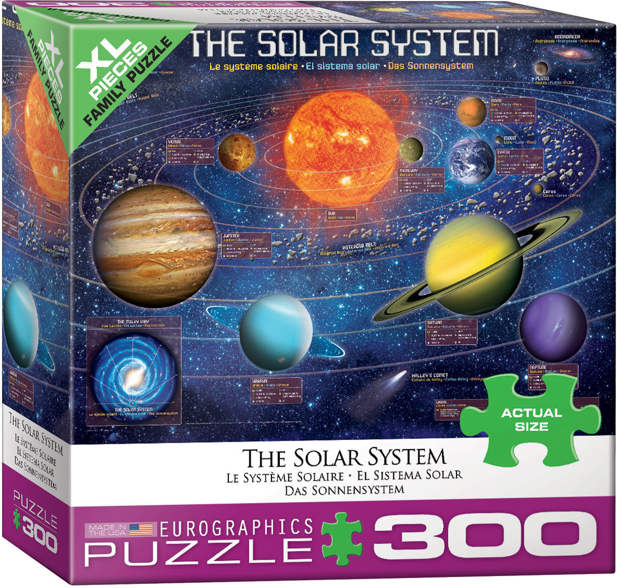 The Solar System 300 Piece Puzzle with XL Pieces - Quick Ship - Puzzlicious.com