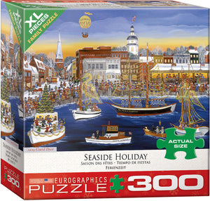 Seaside Holiday 300 Piece Puzzle - Quick Ship - Puzzlicious.com